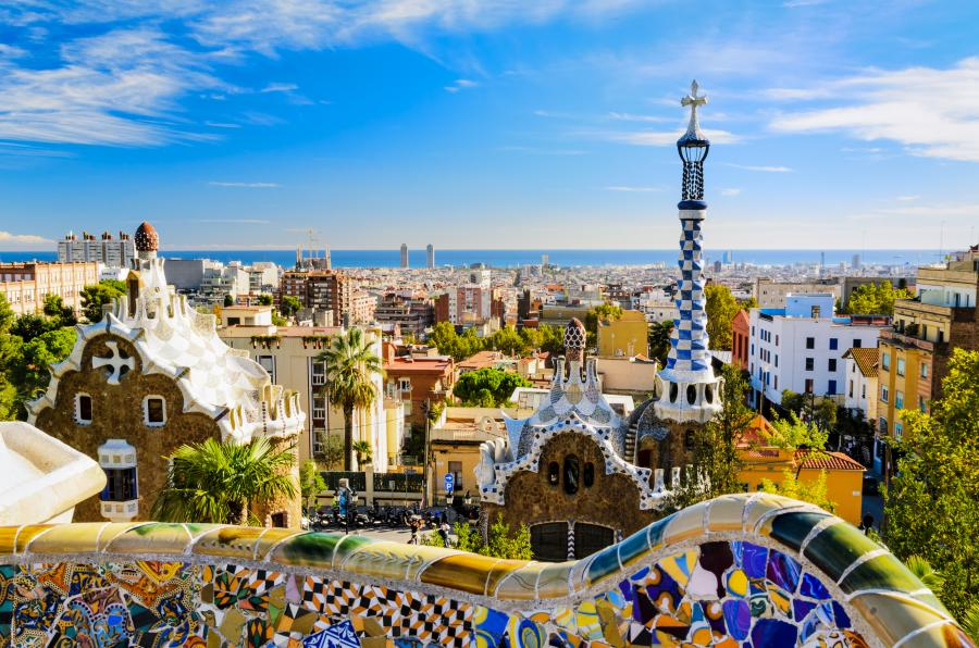 Barcelona - Park Guella