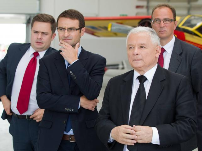 Jarosław Kaczyński wśród posłów PiS