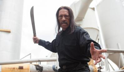 Danny Trejo jako Maczeta, co zabija