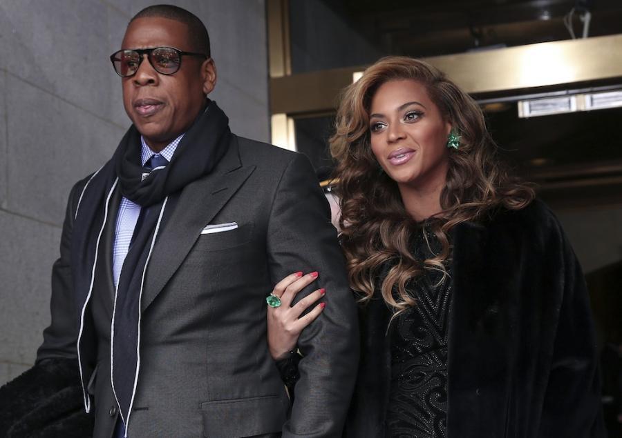 Jay Z z żoną Beyoncé