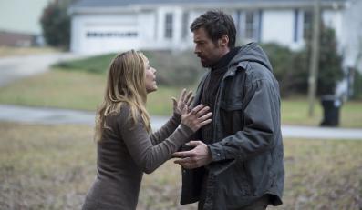 "Hugh Jackman i Maria Bello w filmie ""Labirynt"""