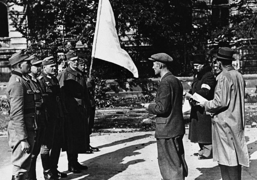 Upadek Powstanie Warszawskiego - negocjacje dowództwa AK z Niemcami