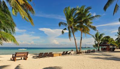 Plaża na wyspie Cebu