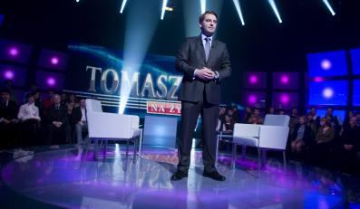 "Tomasz Lis w programie ""Tomasz Lis na żywo"" w TVP"