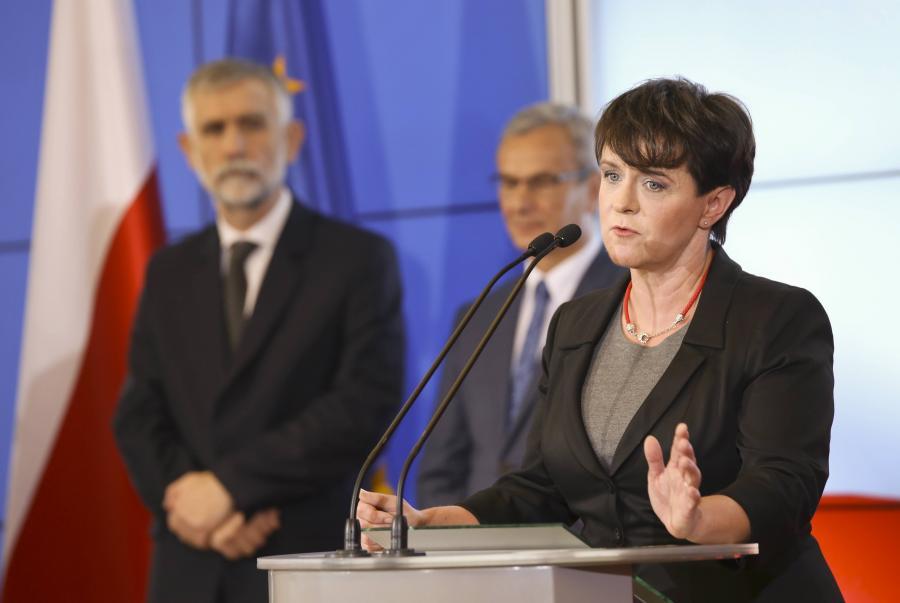 Nowa szefowa MEN Joanna Kluzik-Rostkowska