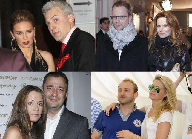 Hubert Urbański i Julia Chmielnik, Maciej i Samanta Stuhrowie, Małgorzata i Jacek Rozenek, Borys Szyc i Zofia Ślotała