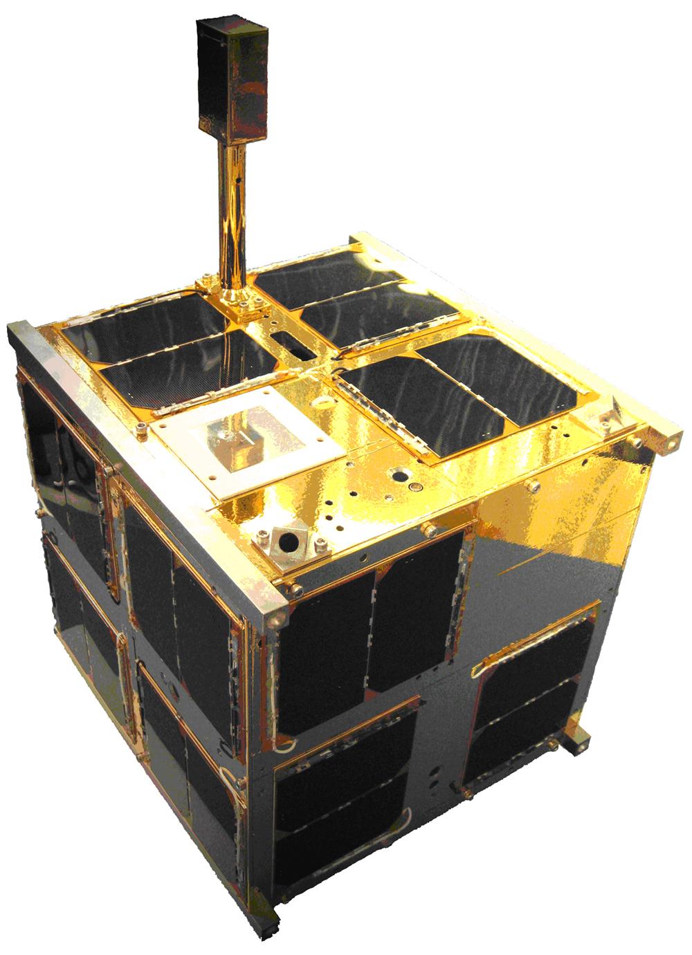 Model gabarytowo termiczny satelity