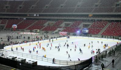 Lodowisko na Stadionie Narodowym