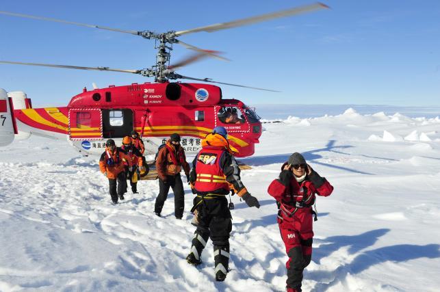 Lodowa saga na Antarktydzie