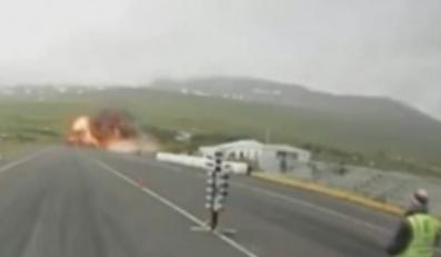 Islandia: Wypadek samolotu