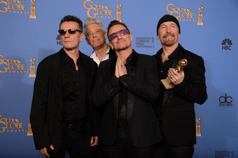 U2 ze Złotym Globem za \