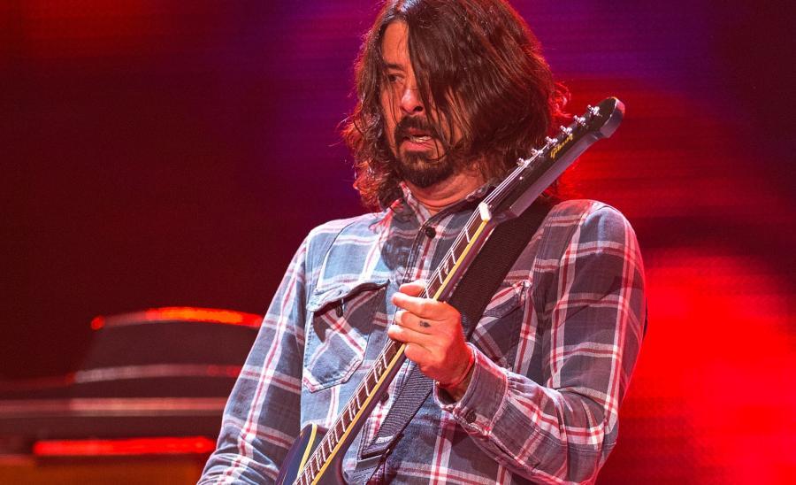 Dave Grohl na Grammy razem z Nine Inch Nails, Queens of the Stone Age i muzykiem Fleetwood Mac