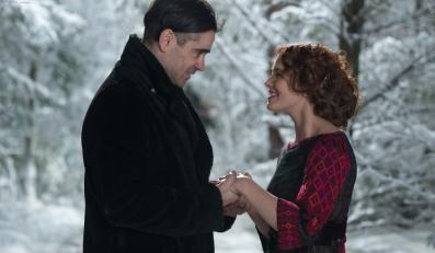 """Colin Farrell i Jessica Brown Findlay w filmie """"Zimowa opowieść"""""""