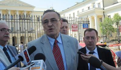 Senator PiS Zbigniew Romaszewski