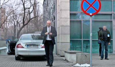 Wojciech Penkalski i jego mercedes CLS