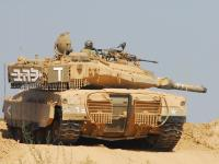 Izraelska Merkawa - bezkonkurencyjna w walkach pustynnych?
