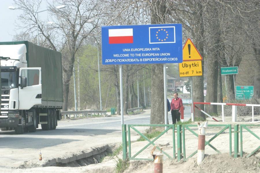 Hrebenne - granica polsko-ukraińska