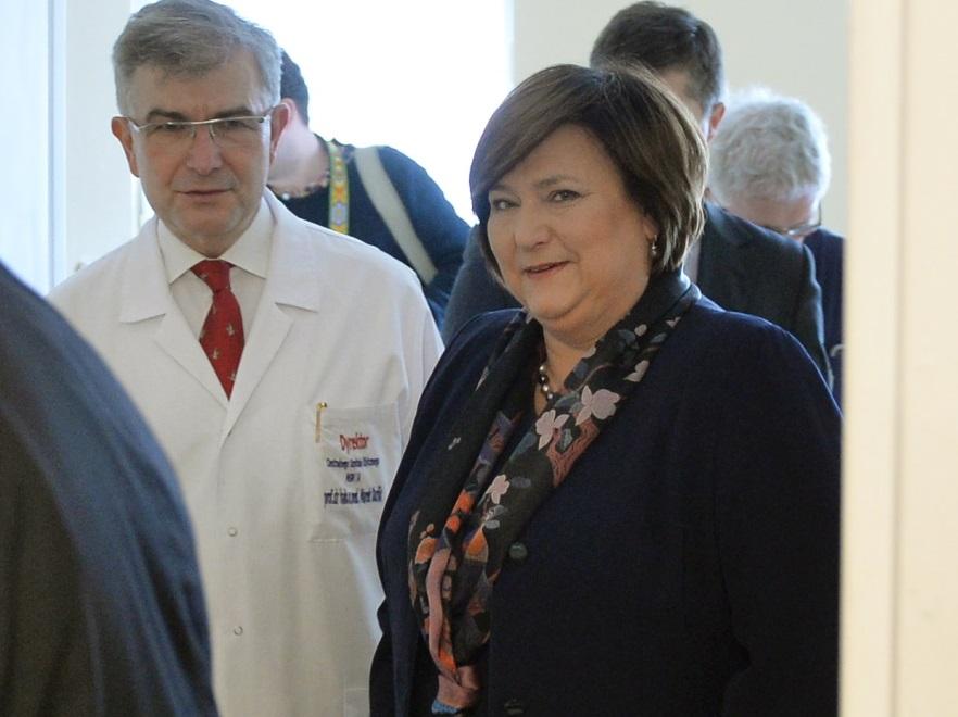 Anna Komorowska i Marek Durlik