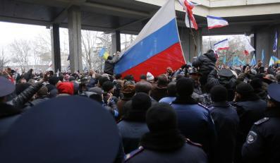 Protesty na Krymie