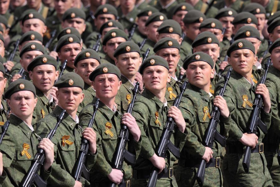 Rosja rosyjscy żołnierze
