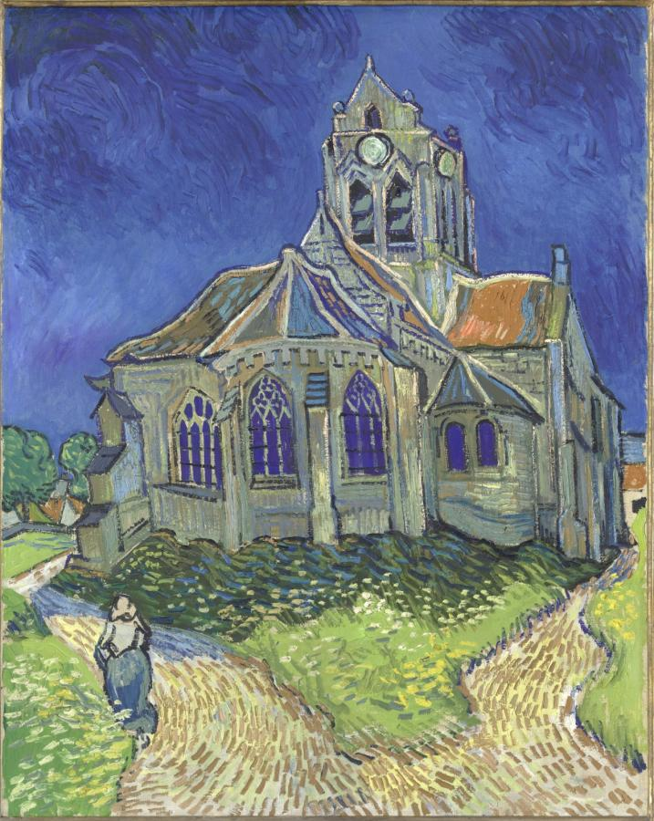 Kościół w Auvers (1890)