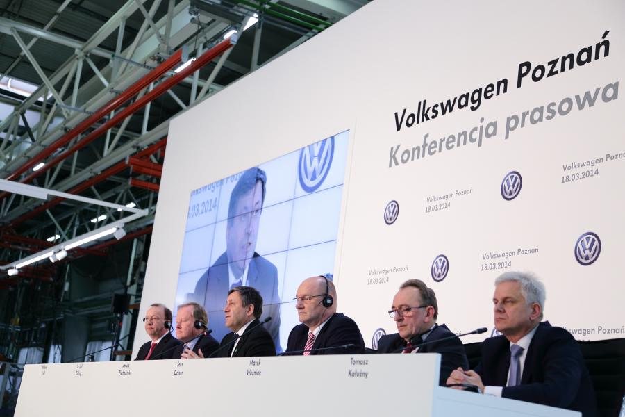 Konferencja Volkswagena