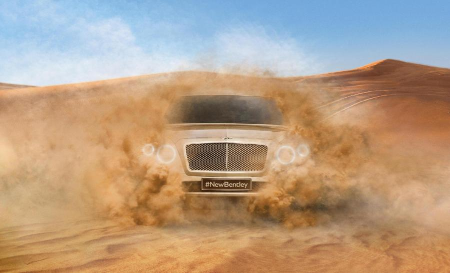 Nowy SUV Bentleya