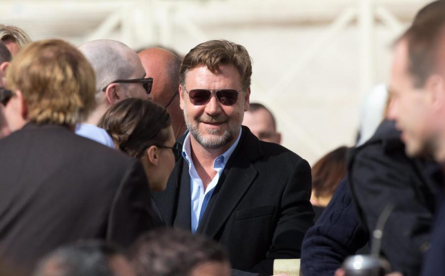 Russell Crowe usłyszał głos papieża