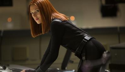 """Scarlett Johansson jako Czarna wdowa w filmie """"Kapitan Ameryka: Zimowy żołnierz"""""""