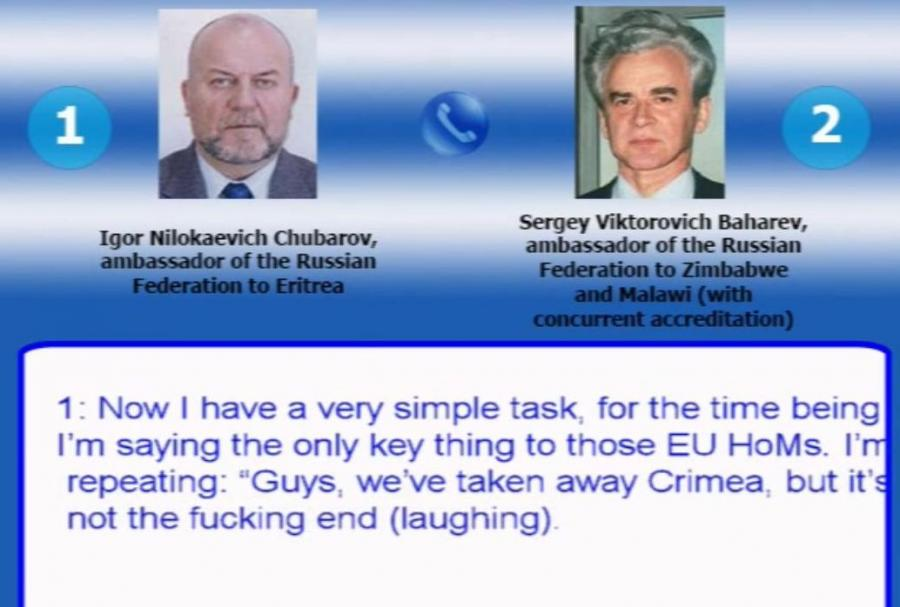 Rozmowa rosyjskich ambasadorów w Afryce