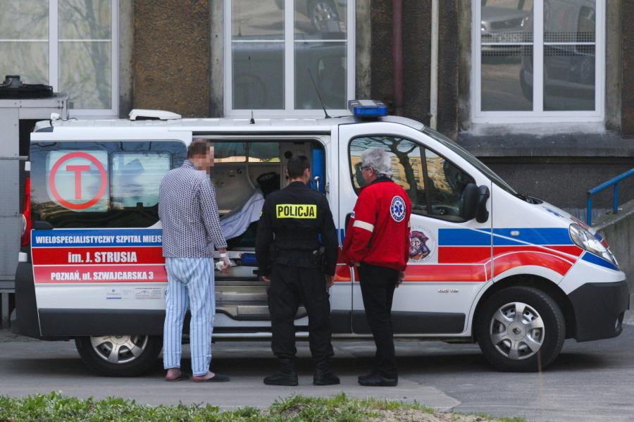 Były wiceminister Zbigniew R. przewieziony do szpitala na badania