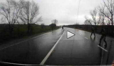 Ostrzelany samochód przez prorosyjskich separatystów