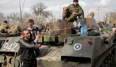 Separatyści w Sławiańsku