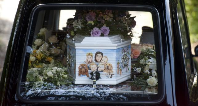 Pogrzeb Peaches Geldof