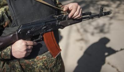 Prorosyjscy separatyści w Słowiańsku