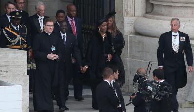 Prezydent Zimbabwe Robert Mugabe na kanonizacji Jana Pawła II i Jana XXIII