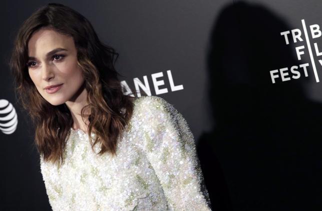 """Keira Knightley na premierze """"Zacznijmy od nowa"""" w Nowym Jorku"""