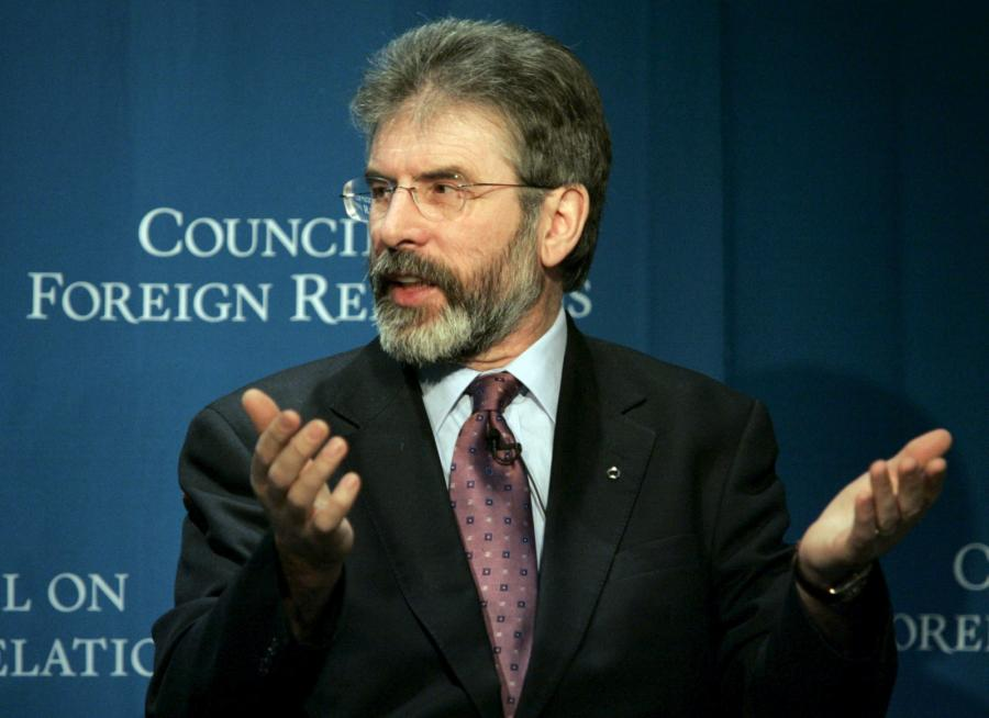 Gerry Adams, lider Sinn Fein, politycznego skrzydła IRA