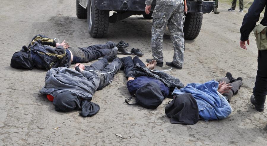 Zatrzymanie podejrzanych o zestrzelenie ukraińskich śmigłowców