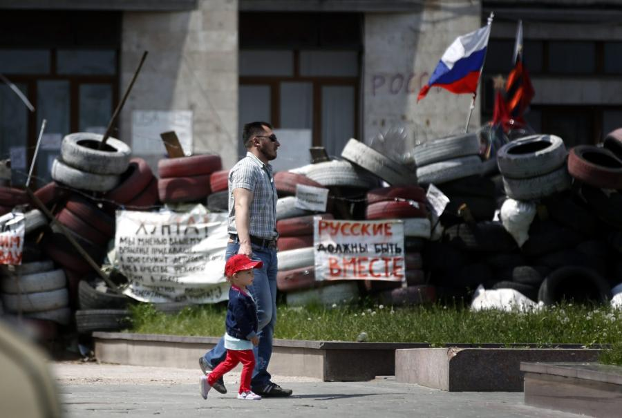 Donieck na Ukrainie