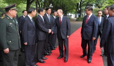 Władimir Putin w Chinach