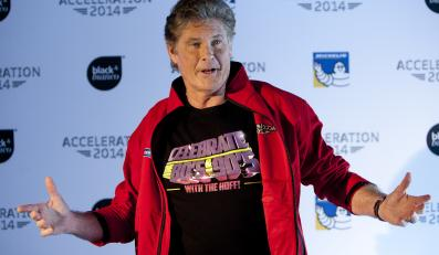 David Hasselhoff pomaga Starlight Children's Foundation