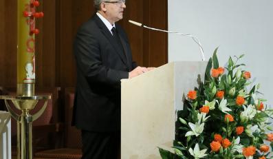 Jaruzelski pogrzeb generał msza Komorowski