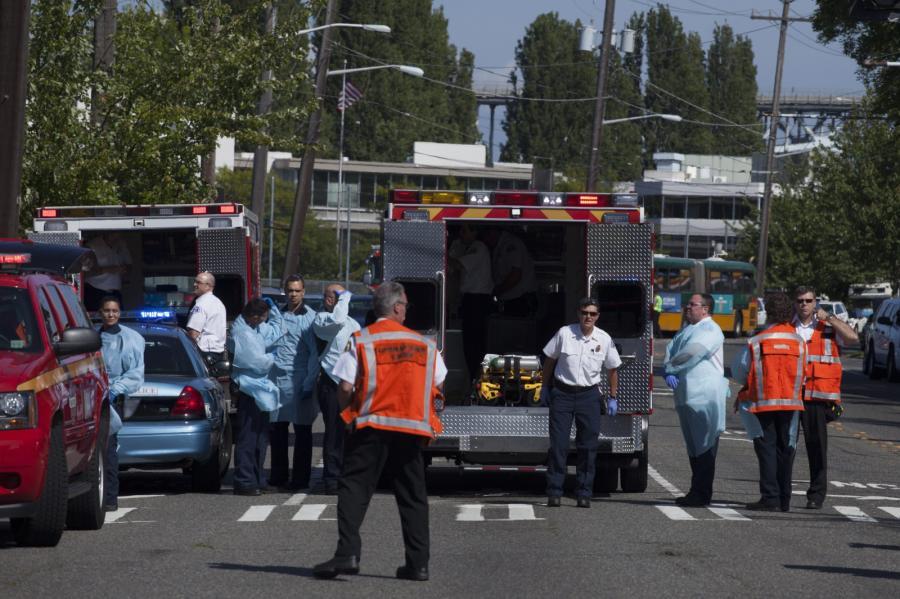 Kampus uniwersytetu w Seattle, gdzie doszło do strzelaniny