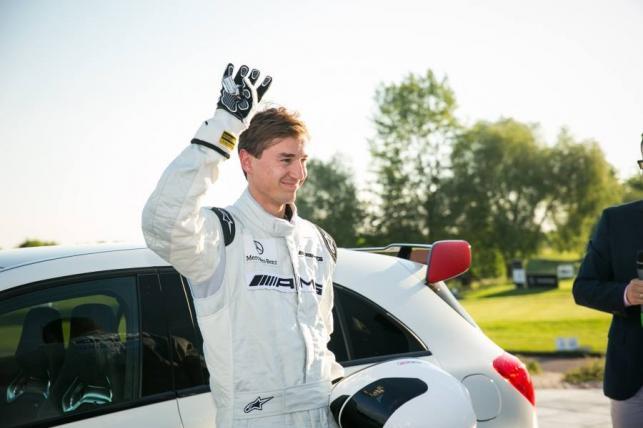 Kamil Stoch jako Stig z Top Gear