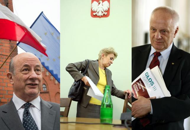 Jacek Rostowski, Iwona Śledzińska-Katarasińska, Stefan Niesiołowski