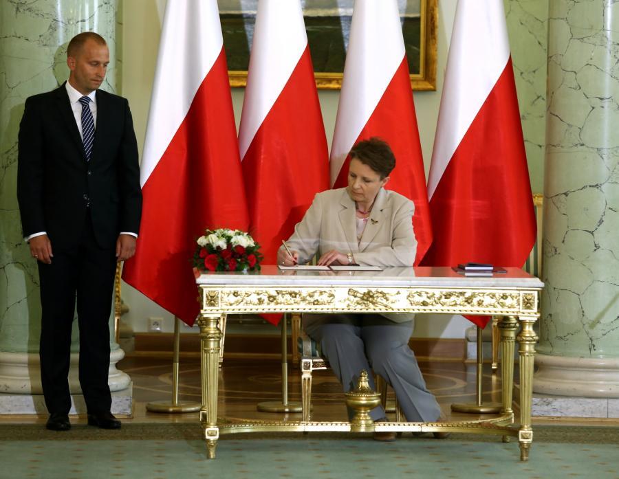 Małgorzata Omilanowska została powołana przez prezydenta Bronisława Komorowskiego na stanowisko ministra kultury i dziedzictwa narodowego