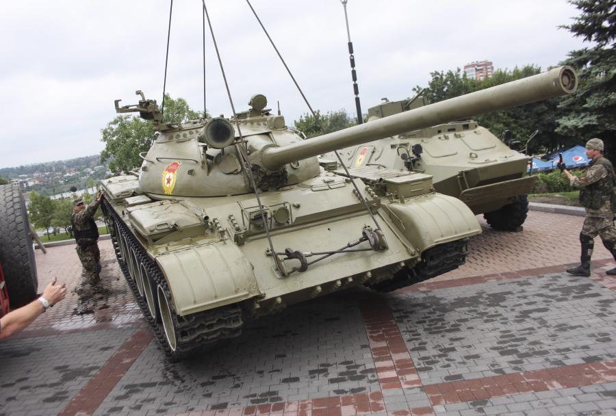 Separatyści plądrują muzeum II wojny światowej
