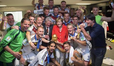 Radość Niemców ze zdobycia mistrzostwa świata