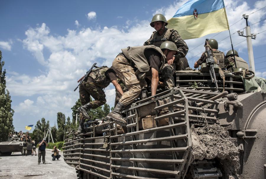 Posterunek ukraińskiej armii